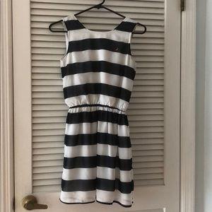 Nautica Navy/White Striped Girls Dress